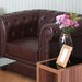All Home Leather Chaca Tub Chair