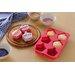 All Home 3 Piece Non-Stick Silicone Cupcake Baking Set