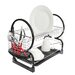 All Home 2 Tier Dish Drainer with Tray III