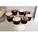 All Home Vintage Ceramic Cake Stand in Cream