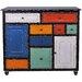 All Home 2 Door 8 Drawer Cabinet