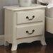All Home Cornwall Night Stand with 2 Drawers
