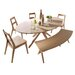 All Home Vaasa Dining Chair Set