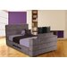 All Home Upholstered TV Bed