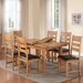 Homestead Living Flutet Extendable Dining Table