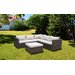 Homestead Living 5 Seater Sectional Sofa Set with Cushions