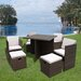 Homestead Living 8 Seater Dining Set with Cushions