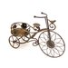 Homestead Living Penny Farthing Novelty Wheelbarrow Planter