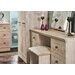 Homestead Living Inishbeg Kneehole 6 Drawer Dressing Table