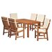 Homestead Living Seymour 6 Seater Dining Set with Cushions