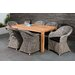Homestead Living Regency 6 Seater Dining Set with Cushions
