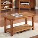 Homestead Living Deledda Coffee Table with Magazine Rack
