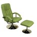 Homestead Living TV Swivel Chair and Footstool