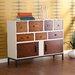 Home Etc Devlin 2 Door, 7 Drawer Cabinet