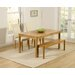 Home Etc Ponziane Dining Table and 2 Benches