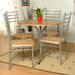 Home Etc Christy Dining Table and 4 Chairs