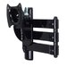 """Home Etc Double Arm Tilt Wall Mount for 32"""" Flat Panel Screens"""
