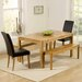 Home Etc Cambridge Dining Table and 2 Chairs and 2 Benches
