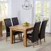 Home Etc Stoke Extendable Dining Table and 4 Chairs