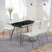 Home Etc Kent Extendable Dining Table and 4 Chairs