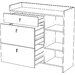 Home Etc Sulz 3 Drawer Sidebaord