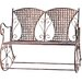 Home Etc Rocking Yvette 2 Seater Iron Bench