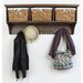 Home Etc Tanya Wall Mounted Coat Rack
