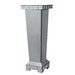 House Additions Classic Mirror Pedestal Plant Stand
