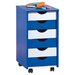House Additions Blop ABC Castor-Based Container Side Table