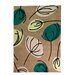 House Additions Infinite Inspire Hand-Tufted Brown Area Rug