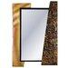 House Additions Metal Art Alphabet Mirror