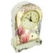 House Additions Magnolia Mantel Clock