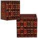 House Additions Appila 2 Piece Wood Litter Box Set