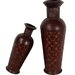 House Additions 2 Piece Wicker-Look Floor Vase Set