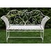 House Additions 2 Seater Metal Bench