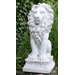 House Additions Sitting Lion Statue