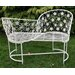 House Additions 2 Seater Metal Love Seat