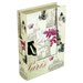 House Additions Paris Storage Book Box I in Cream