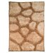 House Additions Arched Handmade Beige Area Rug