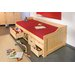 House Additions 96cm x 206cm Bed with Storage