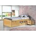 House Additions Nils European Single Mate's Bed with Storage