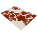 House Additions Claremont Red Area Rug