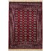 House Additions Agen Red/Beige Area Rug