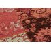 House Additions Annecy Rust Collage Area Rug