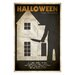 House Additions The Art of Film Halloween Vintage Advertisement