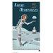 House Additions Retro Futurism Moon Vintage Advertisement