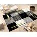 House Additions Contour Cut 3D Handmade Black/Green Area Rug