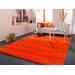 House Additions Orange Area Rug