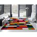 House Additions Happiness Multi-Coloured Area Rug