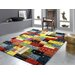 House Additions Bunt Multi-Coloured Area Rug